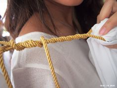 FASHION : DIY // Greek Goddess Costume | What The Greek?