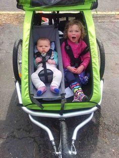 Bike Trailer for 2 Kids