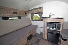 ProLite 12V interior Small Travel Trailers, Small Trailer, Small Campers, Rv Campers, Tiny Cabins, Cabins And Cottages, Tiny Houses For Sale, Tiny House On Wheels, Lightweight Camping Trailers