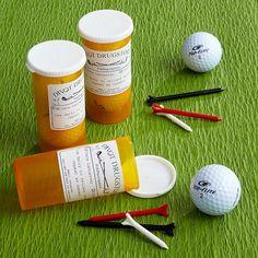 NOT SURE IF BALLS FIT IN REG CONTAINERS...  Par-Scription Golf Ball Set