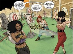 The series, published by Image Comics, comes from writer Kurtis J. Weibe and artist Roc Upchurch, and follows the often irreverent adventures of an all-female adventuring party in a fantasy world. Description from comicbook.com. I searched for this on bing.com/images
