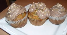 Mogyorókrémes, diós muffin - Süss Velem Receptek Cupcakes, Muffins, Cookie Do, Cookies Policy, Breakfast, Dios, Morning Coffee, Muffin, Cupcake
