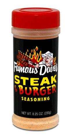 Famous Dave's Steak and Burger Seasoning - 8.25 oz. at Menards
