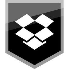 Dropbox-Free-Silver-Shield-Icon-AlfredoCreates