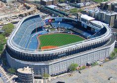 Yankee Stadium - history, photos and more of the New York Yankees ballpark from Yankee Stadium, Shea Stadium, Go Yankees, New York Yankees, New York Stadium, Mlb Stadiums, Baseball Park, Sports Stadium, New York City