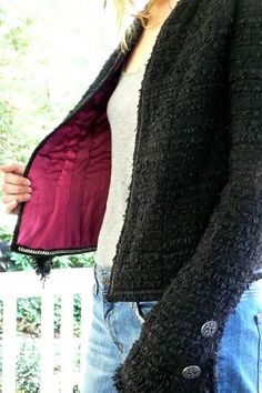 handmade French jacket