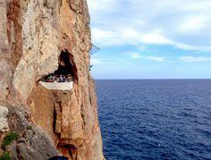 Cova d'en Xoroi, Menorca, Spain