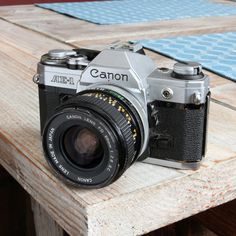 Canon AE-1 https://www.etsy.com/listing/219988627/working-vintage-canon-ae-1-35mm-film-slr