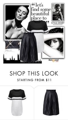 """Banggood 6."" by zura-b ❤ liked on Polyvore featuring MARA and Chanel"
