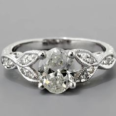 Diamond engagement rings, wedding bands and complete selection of GIA certified loose diamonds. Create the perfect custom wedding ring online. Edwardian Style, Edwardian Fashion, Oval Diamond, Diamond Engagement Rings, Jewelery, Bling, Antiques, Jewels, Antiquities