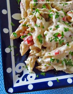 Cheesy Baked Chicken Penne