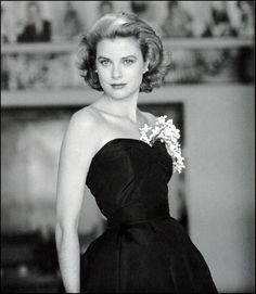 Actress and style icon Grace Kelly