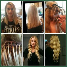 Keratin Bond Hair Extensions Long Island