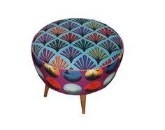 Pufe Retrô Decor, Furniture, Saucer, Chair, Home, Saucer Chairs, Retro, Decorative Bowls, Home Decor