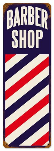 Man Cave Cutz : Barber poles on pinterest shop barbers and signs