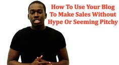 How To Use Your Blog To Make More Sales While Looking 'Cool': http://andreyadison.com/blog-make-sales-look-cool/