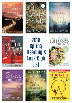 reading and book club list