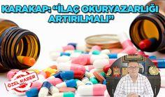 Konya Haber: Cemil Karakap: İlaç okuryazarlığı artırılmalı