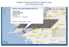 WA Maritime Museum Map - Fremantle, WA Maritime Museum, Western Australia, Maps, Blue Prints, Map, Cards