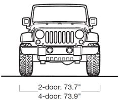 Personalized name Jeep Wrangler Wall Decal Art by