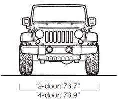 Jeep Wrangler (2008) | SMCars.Net - Car Blueprints Forum