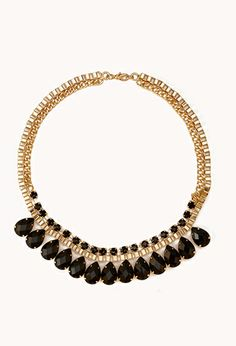 Regal Bib Necklace | FOREVER21 - 1000110731. Love  this statement necklace, it's simple but elegant