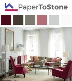 32 Awe Striking Color Palettes For Interior Design! Living Room ...