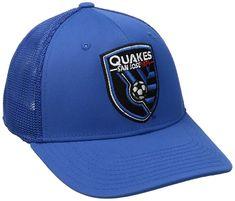 b953e281cbd MLS San Jose Earthquakes Adult Men MLS Fan Wear Tactel Trucker Flex Cap