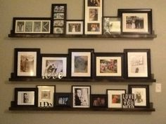 Picture shelves!