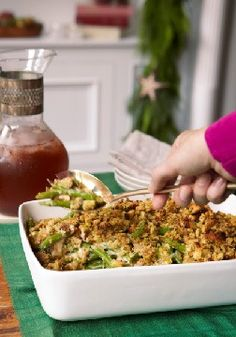 Classic Green Bean Casserole – Can you even imagine a holiday without green bean casserole? Don't try. The cheesy, crunchy classic is deliciously easy to make and even easier to love.
