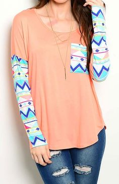 Tribal Cowgirl Top