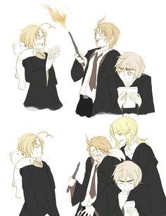 Hetalia x Harry Potter