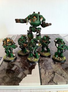 Salamanders (and Successors) Army Showcase - + Salamanders + - The Bolter and Chainsword