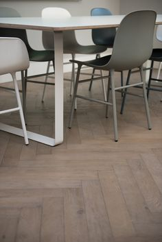 Dominica Oak Herringbone  from Urbane Living. Grey Brown tones give a natural look