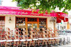 Brasserie ile saint louis by parisjet'aime, via Flickr Ile Saint Louis, St Louis, France, Dining, Travel, Canteen, Brewery, Terraces, Food