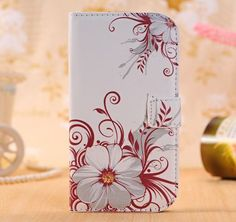 Flower Leather Wallet Phone Case For Samsung Galaxy Grand Core Prime G360 G530 G355H S3 S6 A3 A5 J2 J3 J5 Prime Cases Back Cover