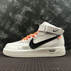 new products 95e98 d683d NiceKicks Recommend OFF WHITE x Nike Air Force 1 07 LV8 Just Do It White  Multicolor