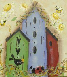casinhas por Sandra (projeto : Renee Mullins)