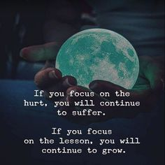 Focus on the lesson. http://backbonepower.com/newsletter-signup/