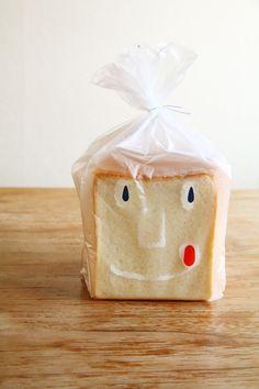 Japanese Bread Packaging http://www.luontobakery.com