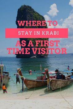 Where to stay in Krabi as a first time visitor krabi thailand Best Resorts In Krabi, Phuket, Krabi Thailand Resorts, Krabi Resort, Thailand Vacation, Thailand Travel Guide, Thailand Honeymoon, Visit Thailand, Asia Travel