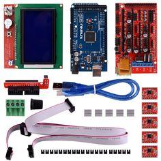 34.99$  Buy now - https://alitems.com/g/1e8d114494b01f4c715516525dc3e8/?i=5&ulp=https%3A%2F%2Fwww.aliexpress.com%2Fitem%2FMiroad-K17-3D-Printer-Controller-Kit-for-Arduino-Mega-2560-Uno-R3-Starter-Kits-RAMPS-1%2F32767830699.html - Miroad K17 3D Printer Controller Kit for Arduino Mega 2560 Uno R3 Starter Kits +RAMPS 1.4 +A4988 Motor Driver + LCD 12864 34.99$