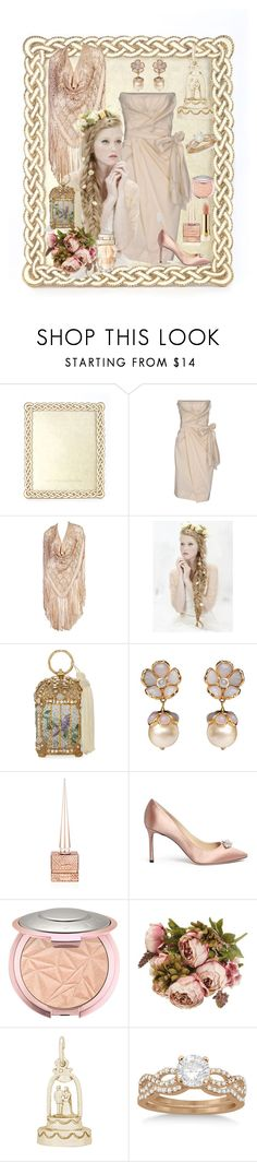 """""""An Old Fashioned Girl"""" by farradaymg ❤ liked on Polyvore featuring Jay Strongwater, Donna Karan, Noa Vider, Judith Leiber, Chanel, Christian Louboutin, Jimmy Choo, Too Faced Cosmetics, Rembrandt Charms and Allurez"""