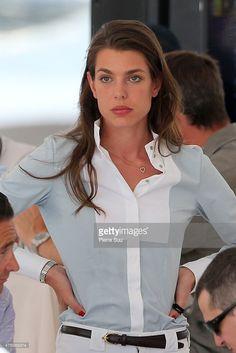 Charlotte Casiraghi - Longines horse Show  - June  2015 - Ramatuelle - France.