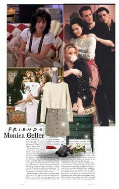 """Friends: Monica Geller"" by priscilla12 ❤ liked on Polyvore featuring Aubin & Wills, Bella Vita, Monki, Sur La Table, The Cellar, women's clothing, women, female, woman and misses"
