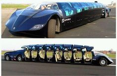 "The commute between Abu Dhabi and Dubai may be slashed to 30 minutes if the inventors of an electric ""superbus"" have their way.    The midnight-blue bus travels at a top speed of 250kph, is 15 metres long, 2.5 metres wide and 1.65 metres high and has eight gullwing-style doors on each side."