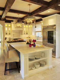 100% dream kitchen... May never happen but dreaming is always wonderful!