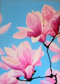 magnolia by a_ painting on ARTwanted