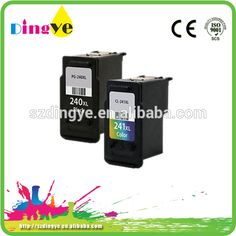 chip reset compatible ink cartridge PG240 CL241 for canon MX438 #reset, #canon