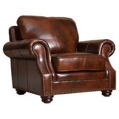 Karrington Leather Arm Chair